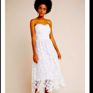 NWT🔥🔥Shoshanna🔥🔥 Fidelia Lace Midi Dress